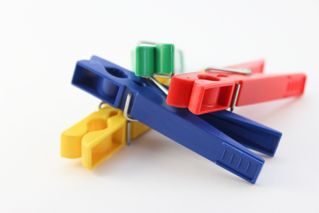Colored clothespins 1