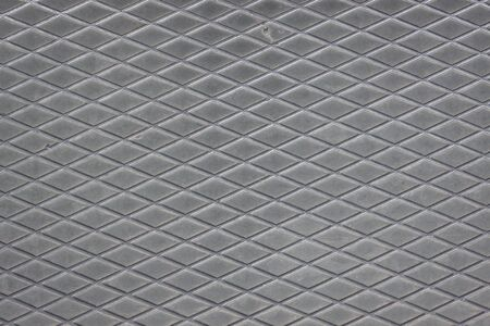 Steel surface texture background with rhomboidal lines Stock Photo - 20900964