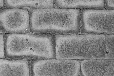 Raw concrete bricks texture background Stock Photo - 20900972