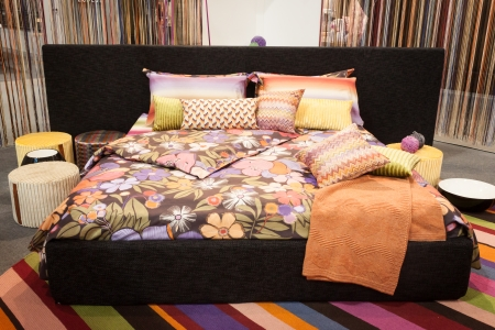 Awesome MILAN, ITALY   JANUARY 20 Missoni Bed Linen On Display At HOMI, Home  International