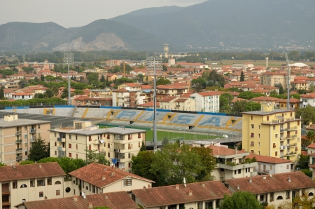 aereal: Pisa Stadium