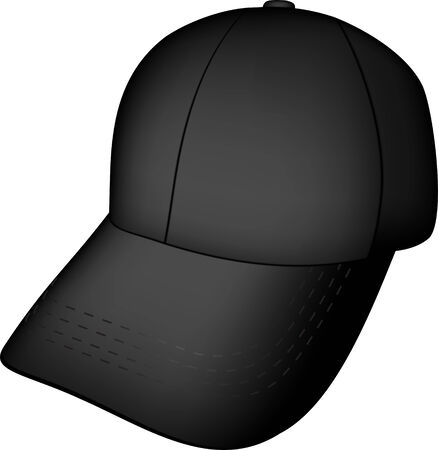 baseball black cap Stock Vector - 6938852