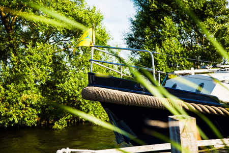 prow: Holland boat prow