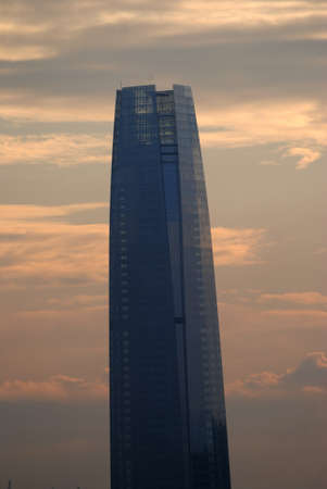 sunshines: Sunset at Costanera center in Santiago Chile
