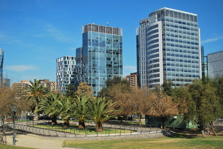office buildings: Amazing skyscrapers in Santiago, Chile