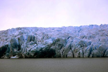 パタゴニアの氷河の風景
