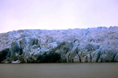 Landscape of glaciers in Patagonia Chile