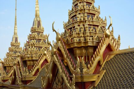 Ancient architecture and temple in Thailand Stockfoto