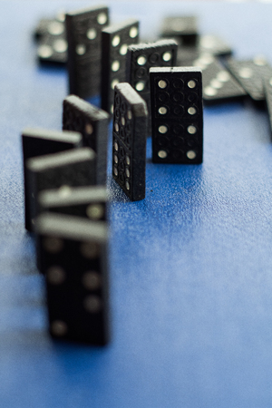 dominoes, domino blocks