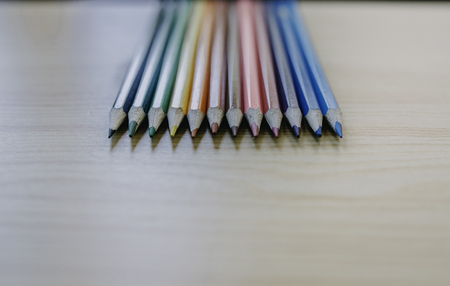 color pencils for drawing and writing in school