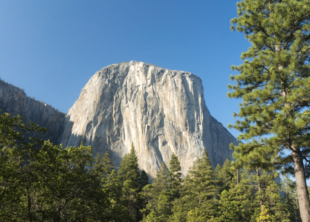 el capitan: El Capitan -Yosemite National Park Stock Photo