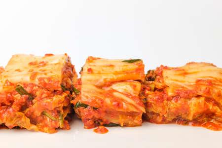Spicy korean food. Korean traditional food. Vegetable food
