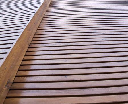 Wood paneling of Siberian lark