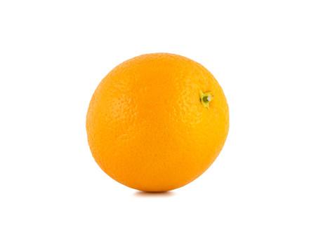 navel: Navel Oranges on white background.