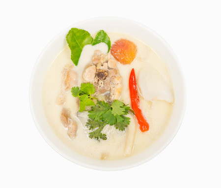 favorite soup: Thai food ,  Chicken in coconut milk and galangal