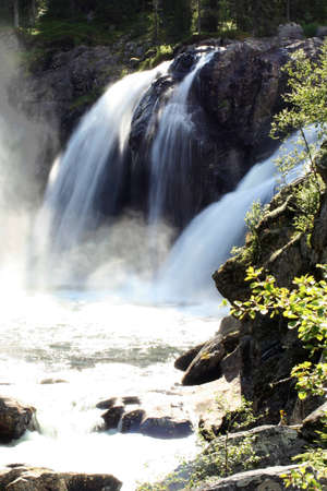 Rjukandefossen waterfall (Hemsedal, Norway)