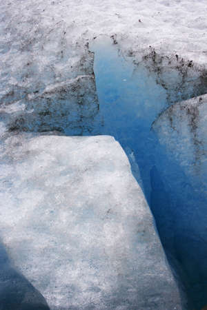 detail glacier norway photo