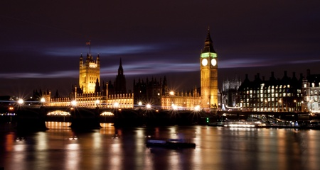 Big Ben and Houses of Parliament in London Stock Photo - 12980757