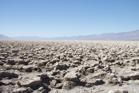 Devil s Golf Course, Death Valley National Park, USA Stock Photo - 15184662