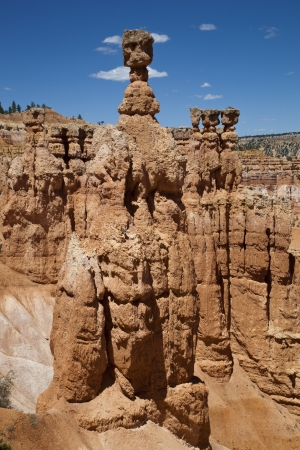 The Hoodoo rock, Bryce Canyon National Park, Utah, USA   photo