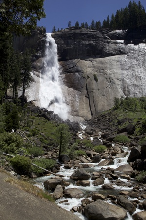 Nevada Falls, Yosemite National Park, California, USA photo