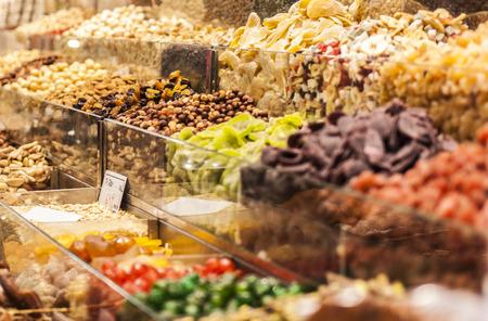 dry fruit: Dry fruit at market Stock Photo