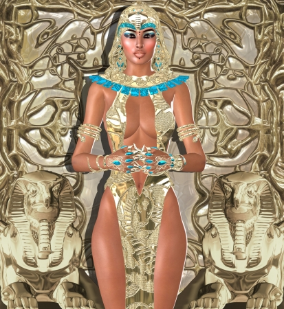 seductive: Goddess Of Light - It was she who turned on the light in the minds of ancient Egyptians
