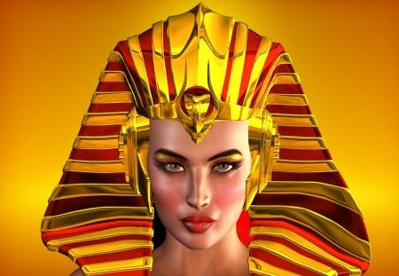 Le visage de l'Egypte Banque d'images - 20314302