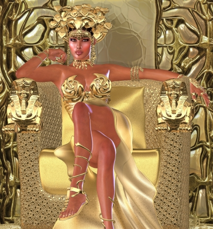 egyptian pyramids: The Snake Queen