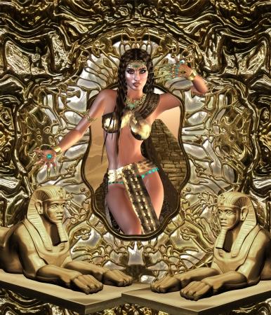 queen nefertiti: Egyptian Seductress