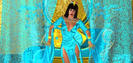 attired: A Curtain To Seduction  A gorgeous Egyptian woman attired in turquoise silk seductively opens her bedroom curtains to let a lover in  Stock Photo