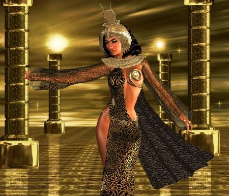 desired: Profundamente desea un soberano egipcio usa sus poderes seductores para comandar a los dioses del sol de otorgar sus bendiciones sobre su pueblo