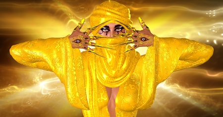 Eyes Of The Harbinger  This render tells the tale of a harbinger spirit that dwells within all men  It s believed that it is the tiny voice that warns us whenever danger is near