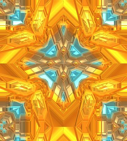 3 dimensional: Backgrounds, Unique Orange and Gold. 3 dimensional depth.