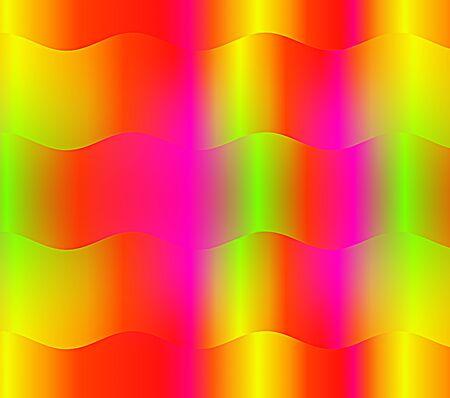 背景には、カラフルな波を抽象化します。