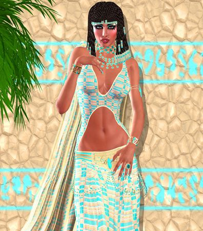 cleopatra: Cleopatra of Egypt! Our modern digital art Egyptian fantasy version.