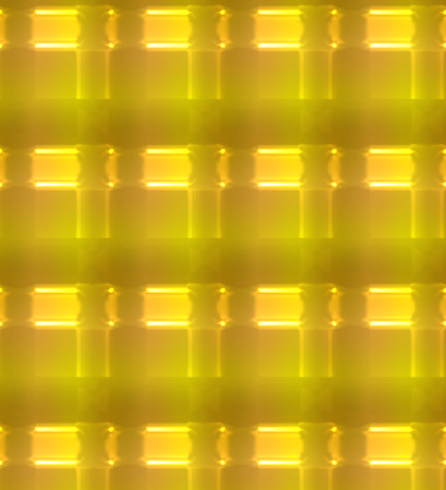 Gold abstract background with glowing light effect.