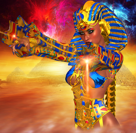 anointed: Egyptian Magic! This Powerful female anointed herself Pharaoh of Egypt.