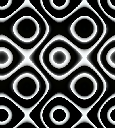 Unique black and white pattern for background, wallpaper or backdrop. Stock Photo