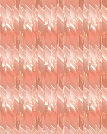 de focused: Abstract peach background with glowing lights and unique pattern.