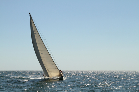 yachting: competition for the Cup of the Odessa region in yachting Stock Photo