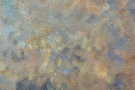 colorful strokes oil paints on canvas. background 版權商用圖片