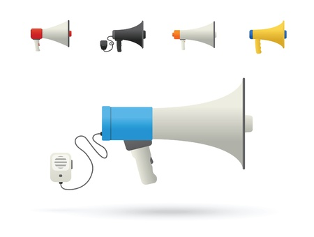 using voice: Iconos Bullhorn