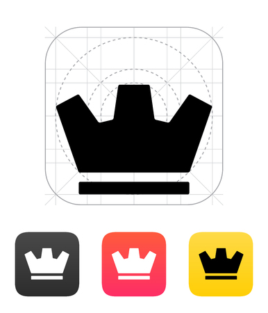 Crown icons. Vector illustration. Vector