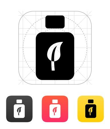 rinse: Rinse teeth icon on white background. Vector illustration. Illustration