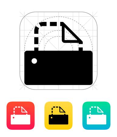 Printer empty icon. Vector illustration. Vector