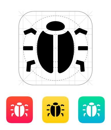 virus informatico: Insecto espía icónico.