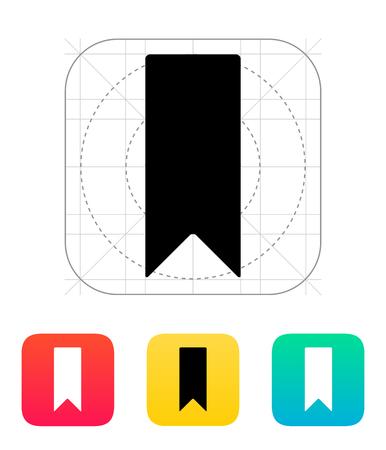 Bookmark icon. Vector illustration. Stock Vector - 25211343