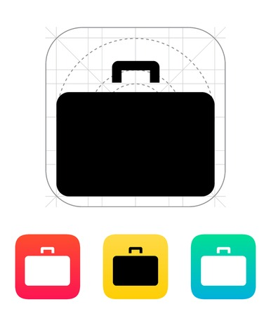 Case icon. Vector illustration. Vector
