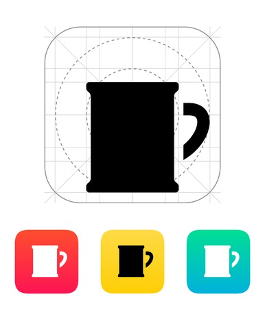Beer mug icon. Vector illustration. Vector